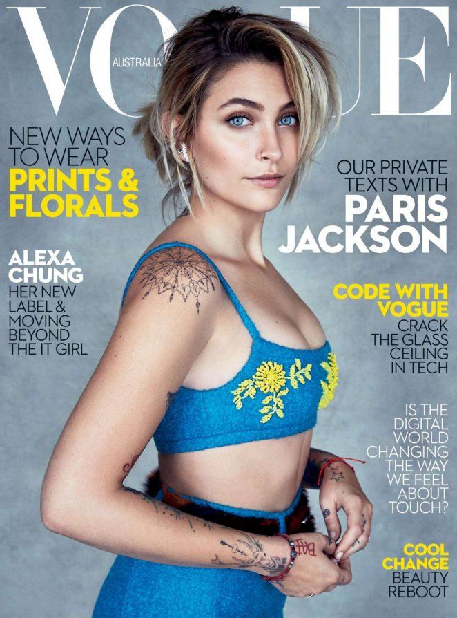 Paris Jackson - Vogue Australia (July 2017)