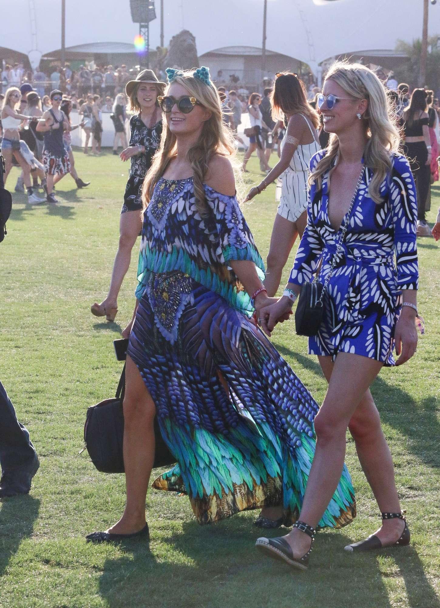 Paris & Nicky Hilton - Coachella Music Festival Day 2 in Indio