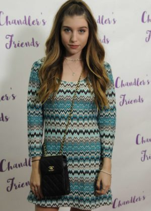 Paris Smith - The Chandler's Friends Toy Drive and Wrapping Party in LA