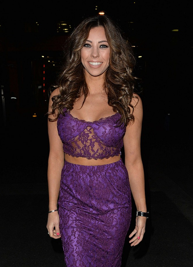 Pascal Craymer in Purple at Libertine Club in London