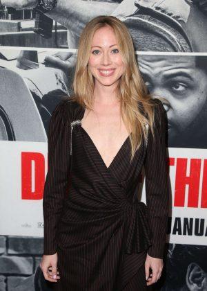 Paten Hughes - 'Den of Thieves' Premiere in Los Angeles