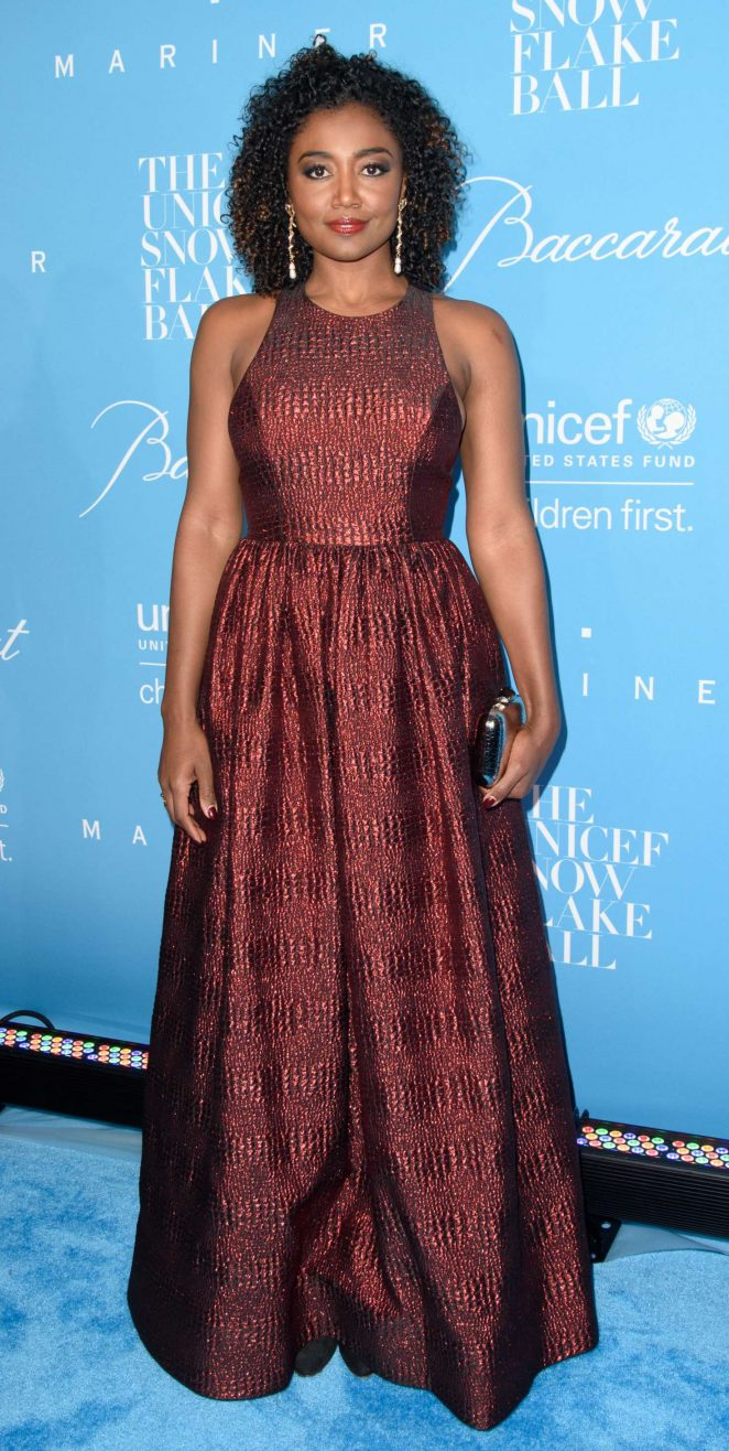 Patina Miller - 2016 UNICEF Snowflake Ball in New York