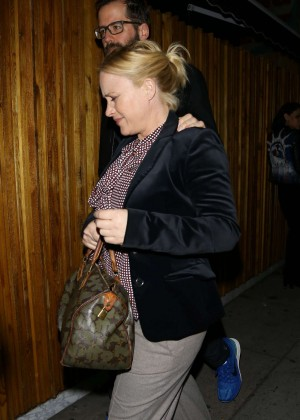 Patricia Arquette - Arrives at The Nice Guy Club in LA