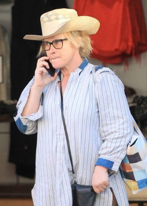 Patricia Arquette at The Grove Shopping Center in Los Angeles