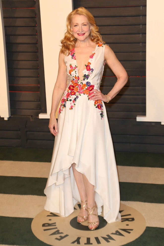 Patricia Clarkson - 2016 Vanity Fair Oscar Party in Beverly Hills