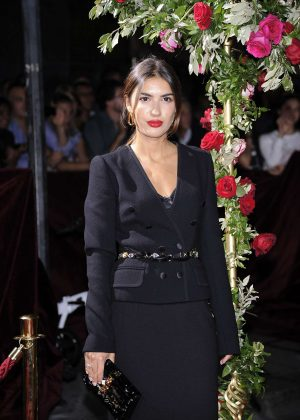 Patricia Manfield - Dolce and Gabbana Show 2017 at Milan Fashion Week in Italy
