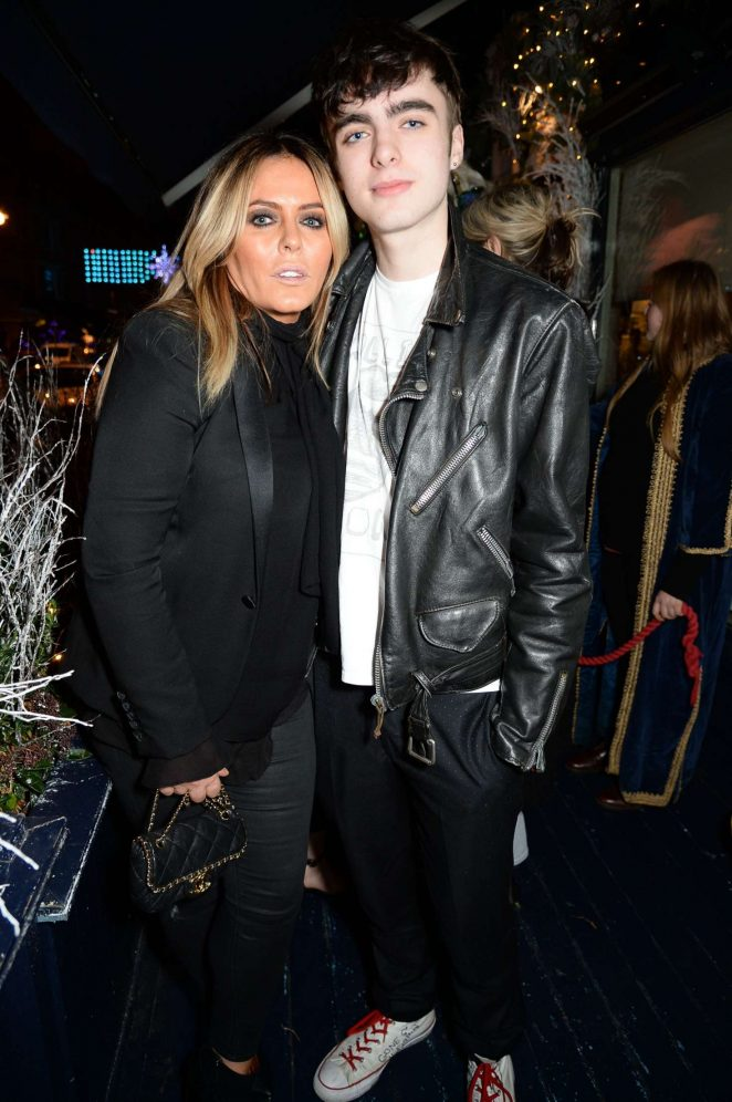 Patsy Kensit - LOVE Magazine Christmas Party in London