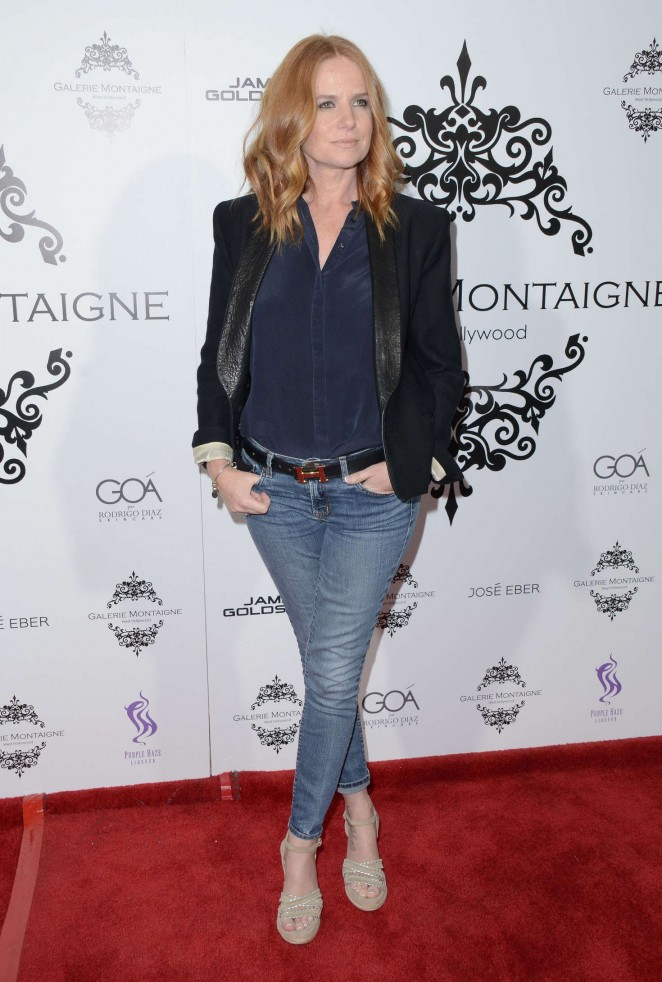 Patsy Palmer - Galerie Montaigne Opening in Los Angeles