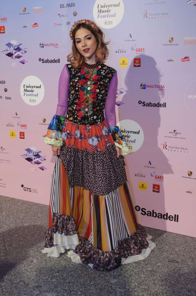 Paty Cantu – Universal Music Festival 2018 in Madrid