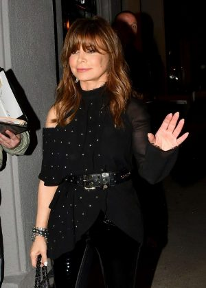 Paula Abdul – Arrives at Craig's Restaurant in West Hollywood