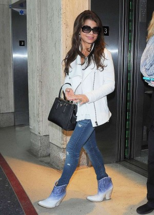 Paula Abdul at LAX Airport in LA