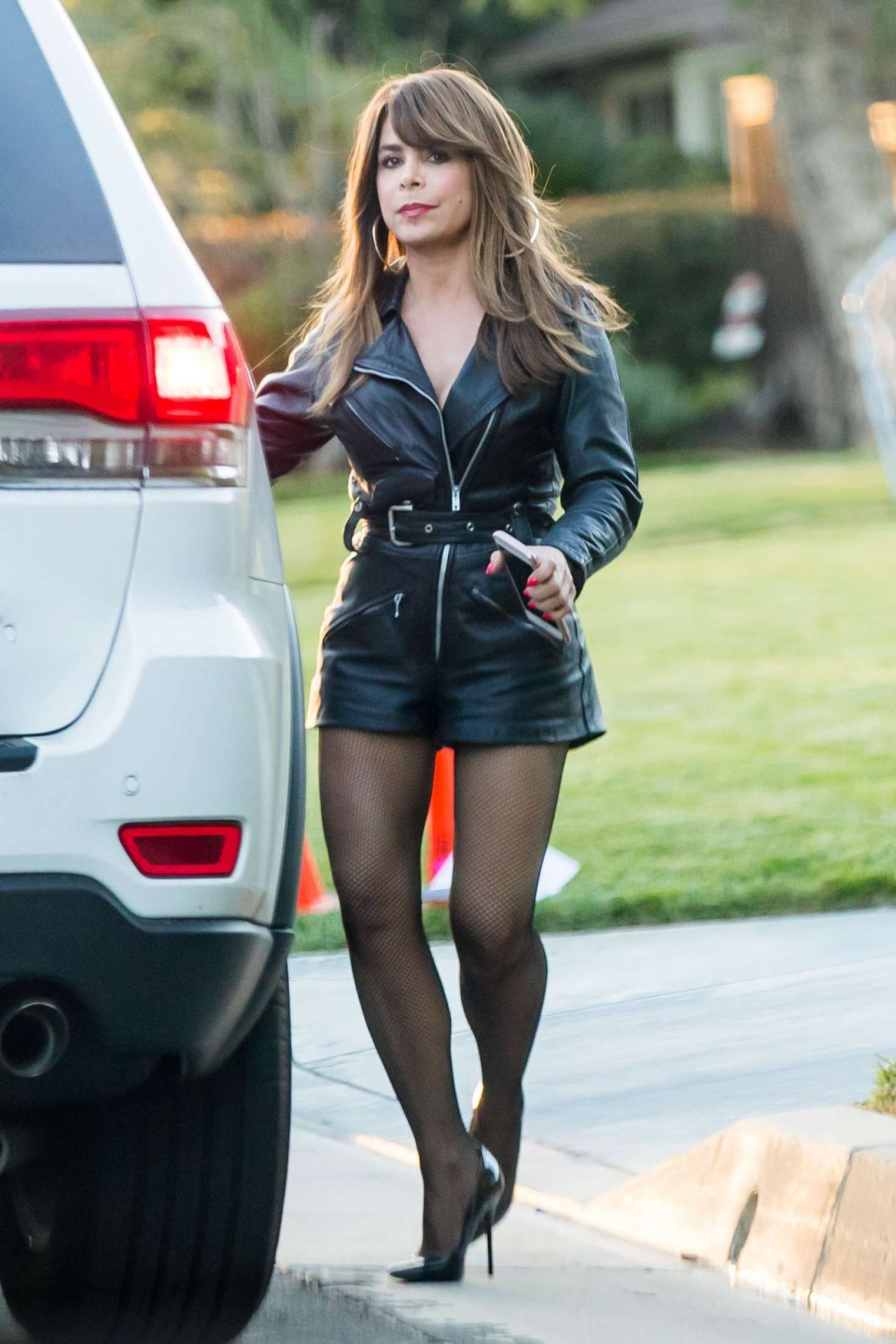 Paula Abdul Filming Untitled Kourtney Kang Project In