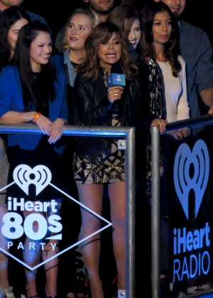 Paula Abdul hosts I heart 80's concert in LA