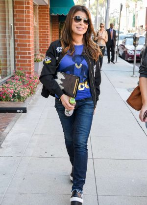 Paula Abdul out in LA