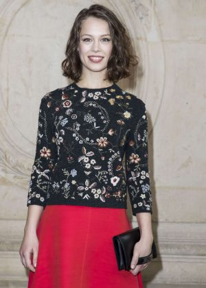Paula Beer - Christian Dior Show at 2017 PFW in Paris