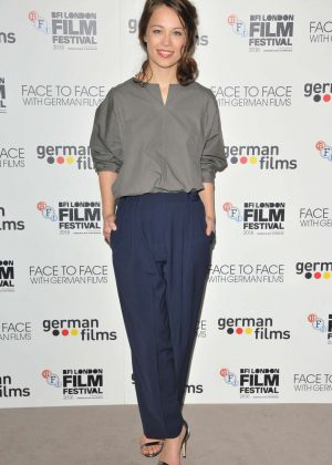 Paula Beer - 'Face To Face With German Films' Photocall at 60th BFI London Film Festival