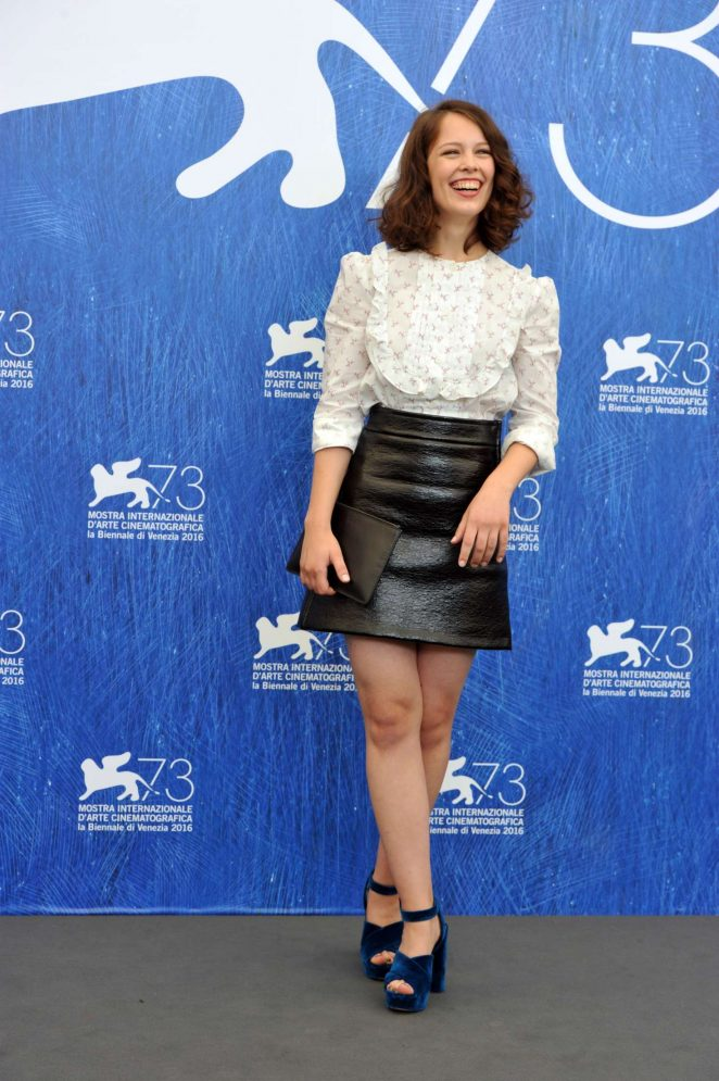 ... Beer – 'Frantz' Photocall at 73rd Venice Film Festival in Italy