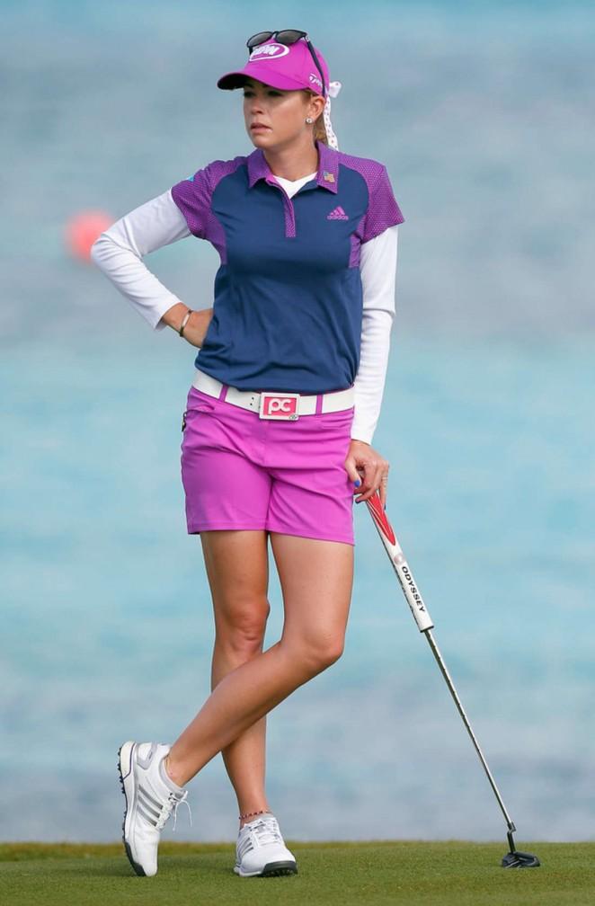 Paula Creamer - Pure Silk Bahamas LPGA Classic in Paradise Island