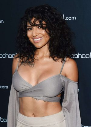 Paula Deanda - boohooMAN.com Launch Party in Los Angeles