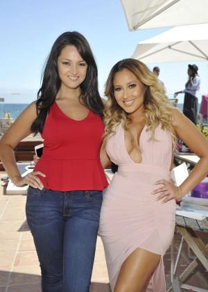 Paula Garces - Celebrates Adrienne Bailon's 'Cosmo for Latinas' issue in Malibu