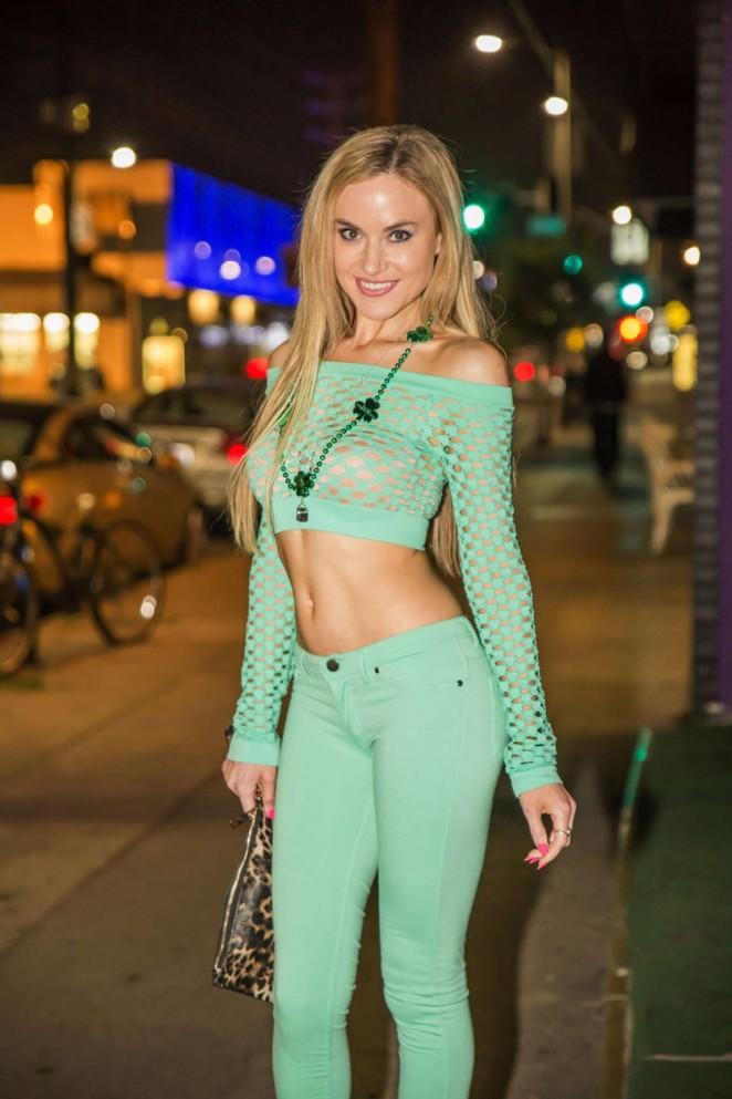 Paula Labaredas Night Out in West Hollywood -02