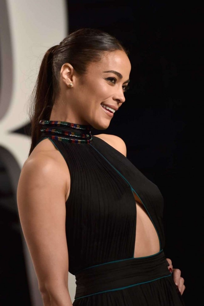 Paula Patton: 2016 Vanity Fair Oscar Party -01