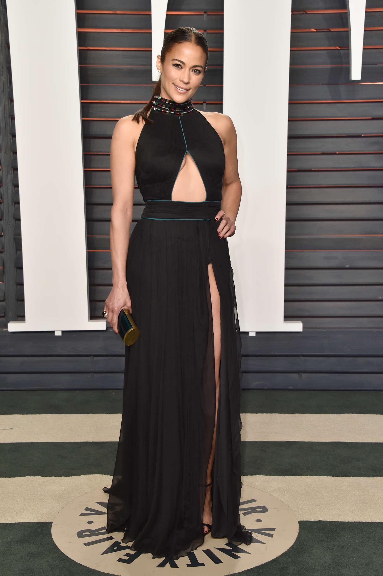 Paula Patton - 2016 Vanity Fair Oscar Party in Beverly Hills