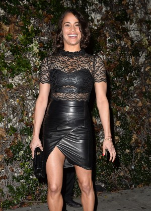 Paula Patton - Arrives to the W Magazine Golden Globe Party in LA