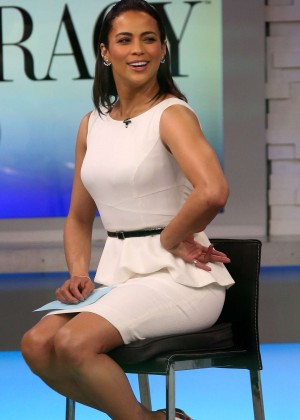 "Paula Patton at ""Good Morning America"" in NYC"