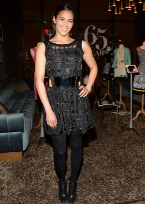 Paula Patton - Celebrating Ellen Tracy's 65th Anniversary & Spring Collection in NY