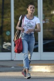 Paula Patton in Jeans - Out in Los Angeles
