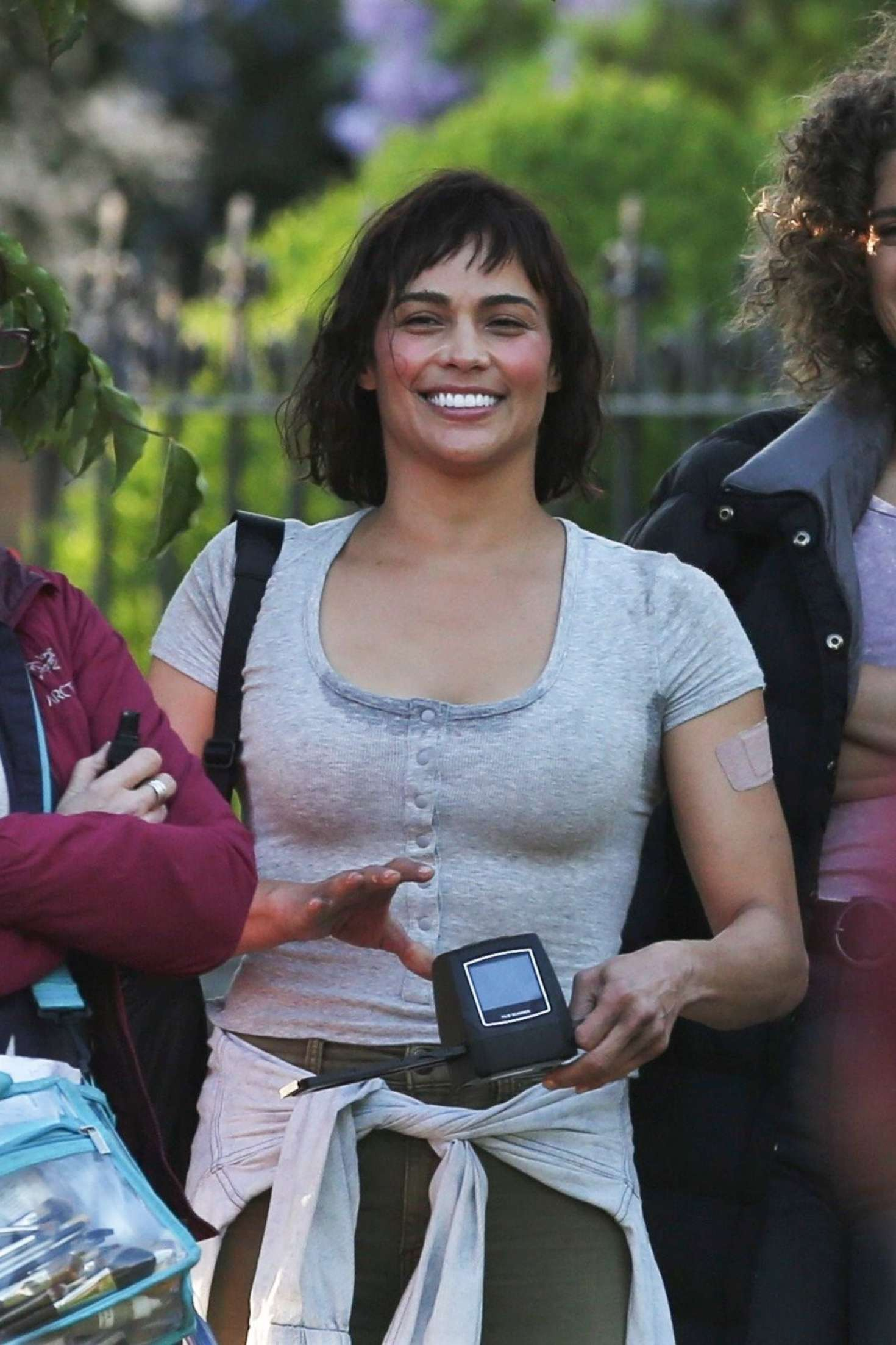 Paula Patton on 'Somwhere Between' set in Vancouver