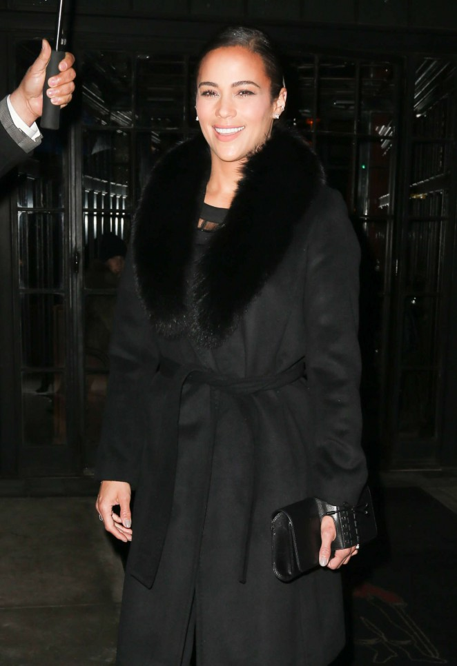 Paula Patton - Out and about in NYC