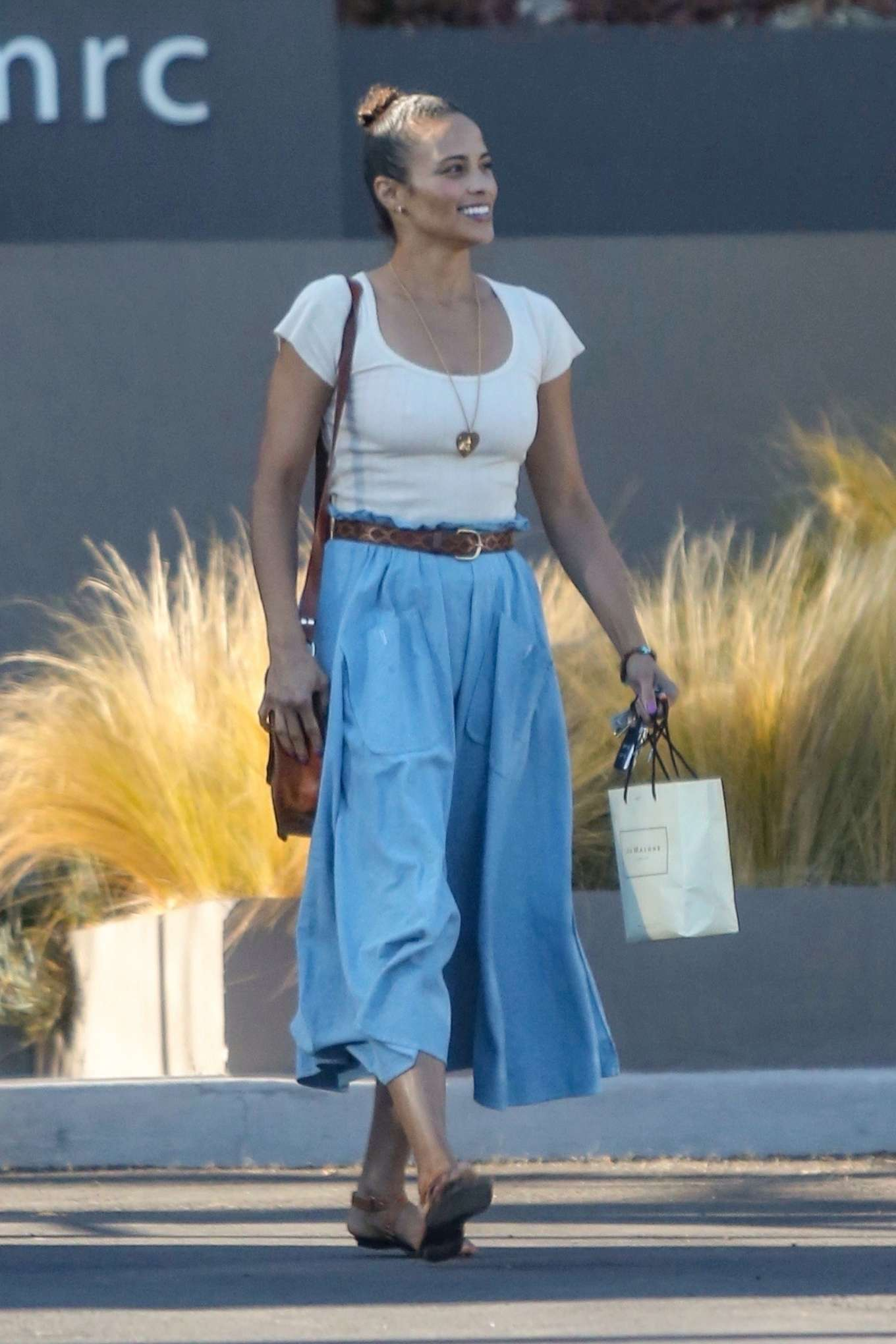 Paula Patton - Out in Malibu