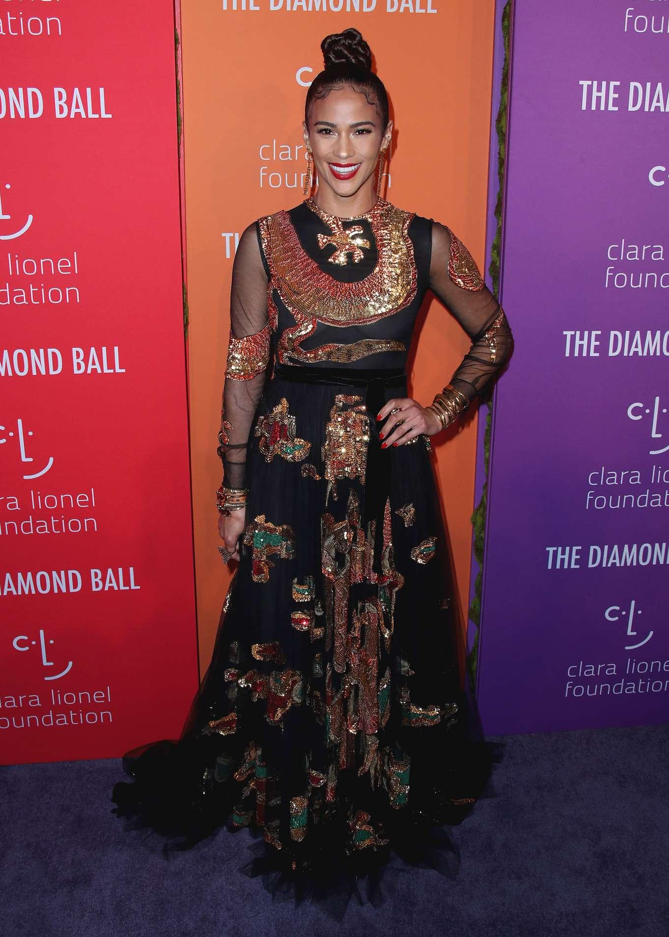 Paula Patton 2019 : Paula Patton – Rihannas 5th Annual Diamond Ball-01