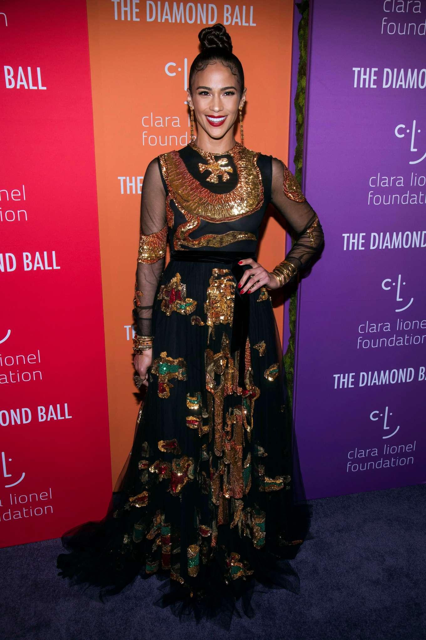 Paula Patton 2019 : Paula Patton – Rihannas 5th Annual Diamond Ball-08