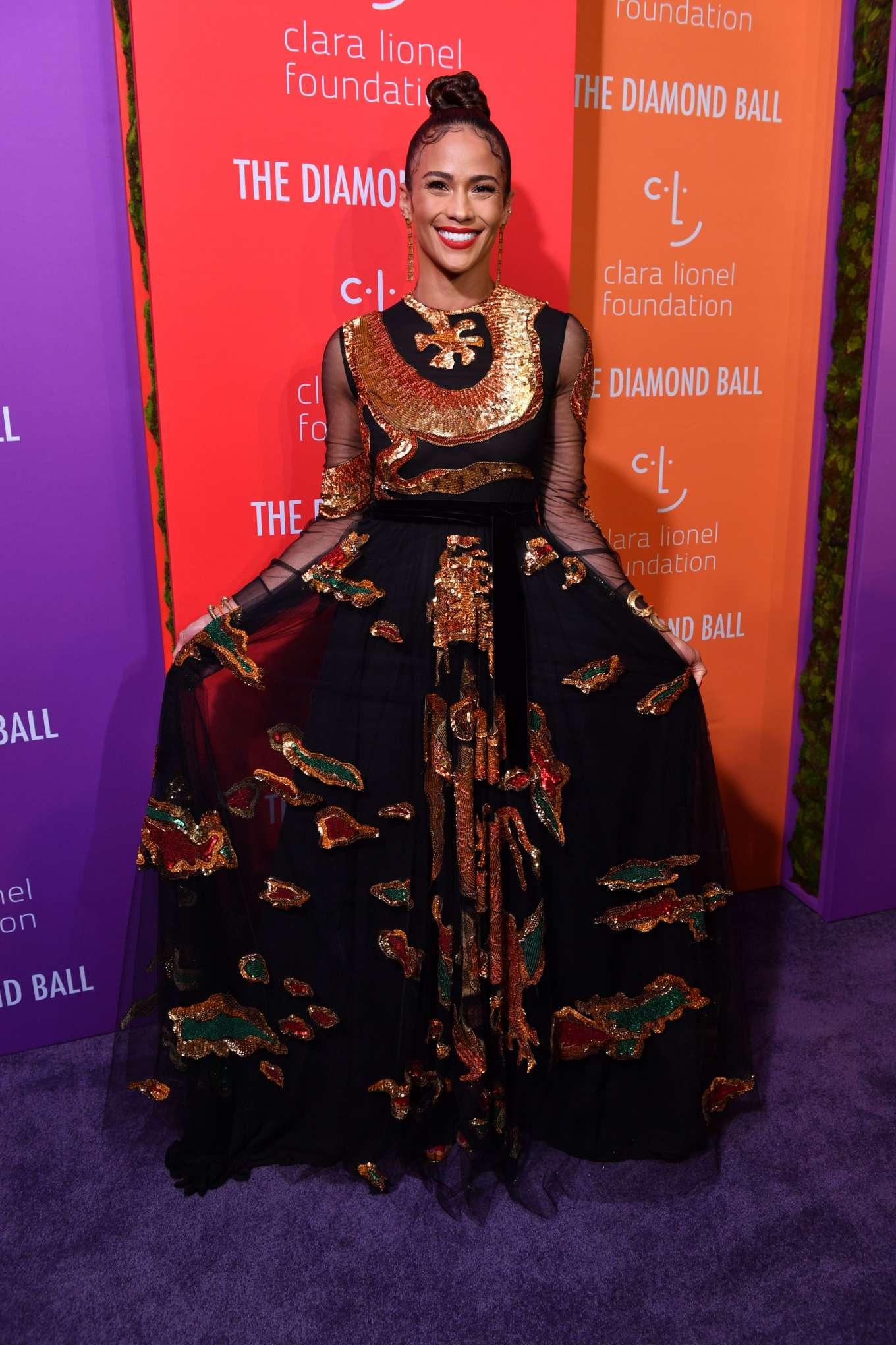 Paula Patton 2019 : Paula Patton – Rihannas 5th Annual Diamond Ball-11