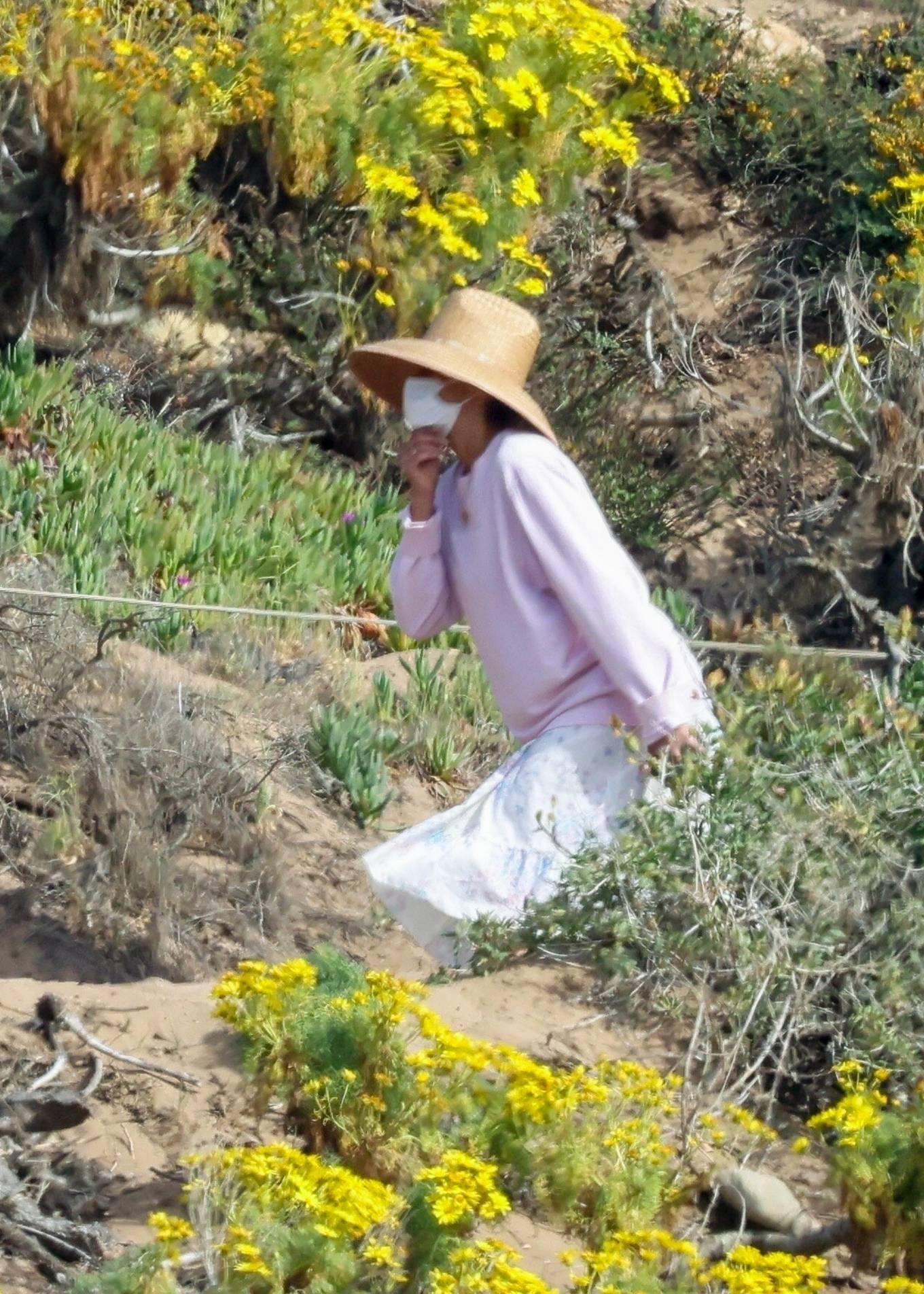 Paula Patton 2021 : Paula Patton – Seen at Point Dume in Malibu-02