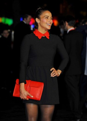 Paula Patton - 'Steve Jobs' Premiere and Closing Gala of 59th BFI London FF