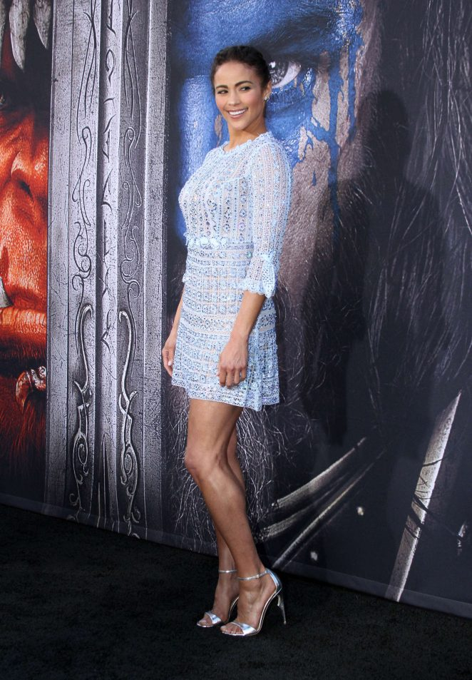 Paula Patton - 'Warcraft' Premiere in Los Angeles