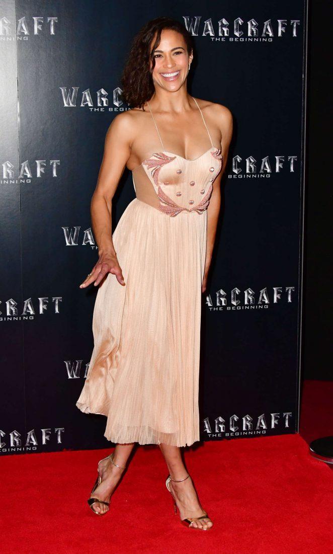 Paula Patton - 'Warcraft: The Beginning' Screening in London