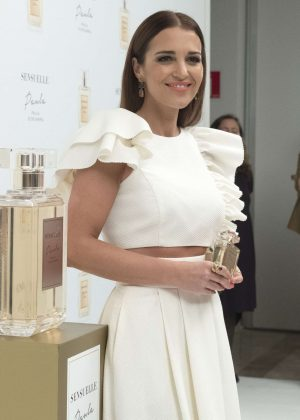 Paula Sensuelle Perfume Photocall in Madrid