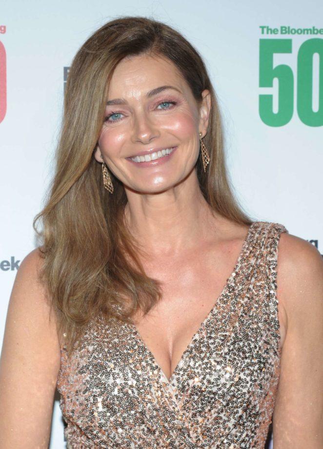 Paulina Porizkova – Bloomberg 50: Icons and Innovators in Global Business in NY