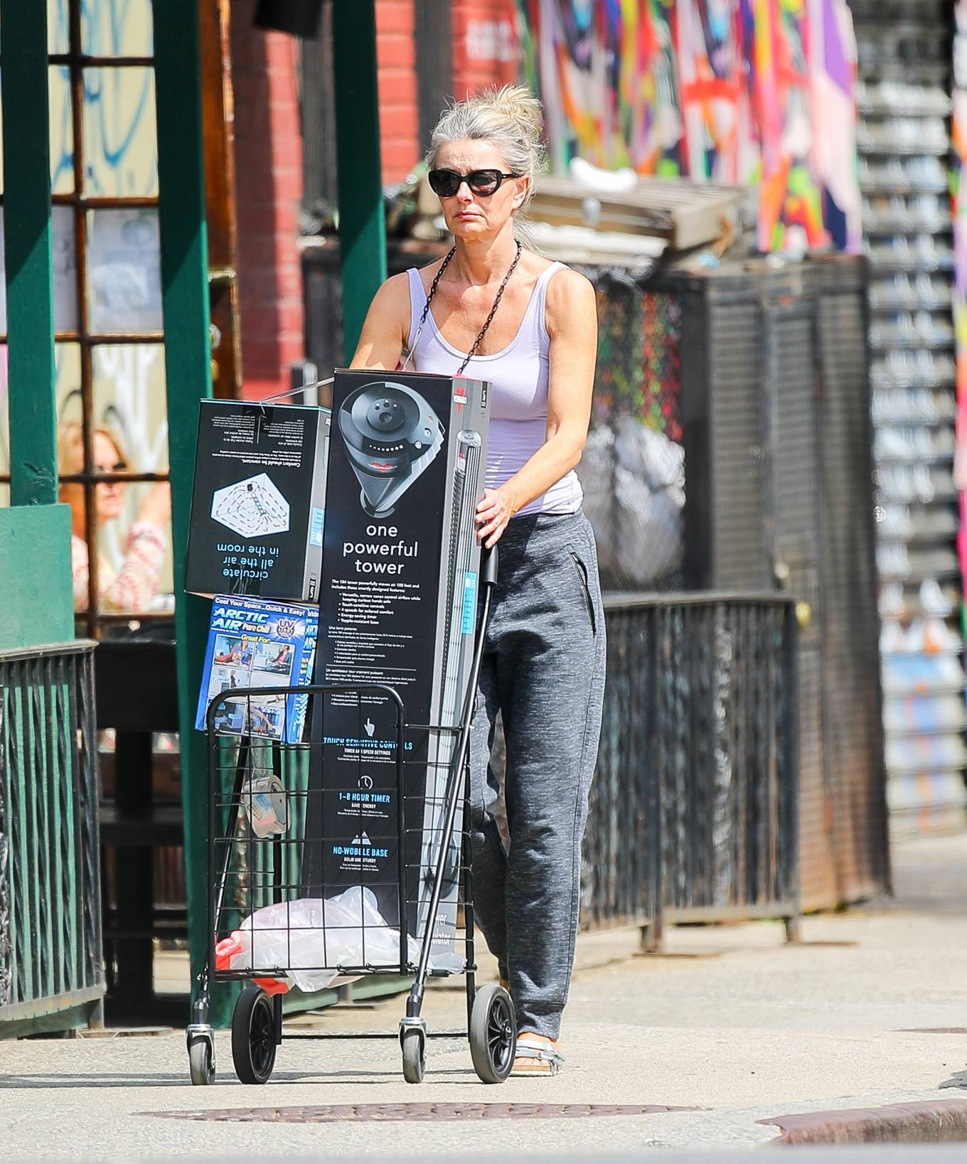 Paulina Porizkova 2021 : Paulina Porizkova – Is spotted in New York City-10