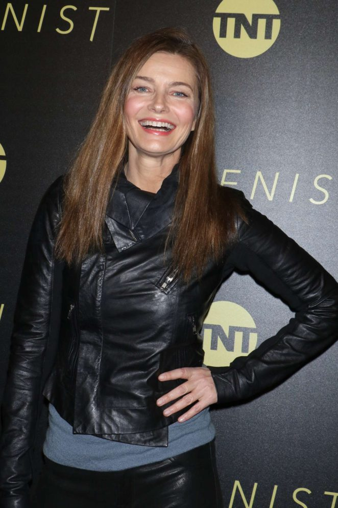 Paulina Porizkova – TNT's 'The Alienist' Premiere in New York City