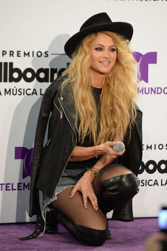 Paulina Rubio - Billboard Latin Music Awards 2016 in Miami