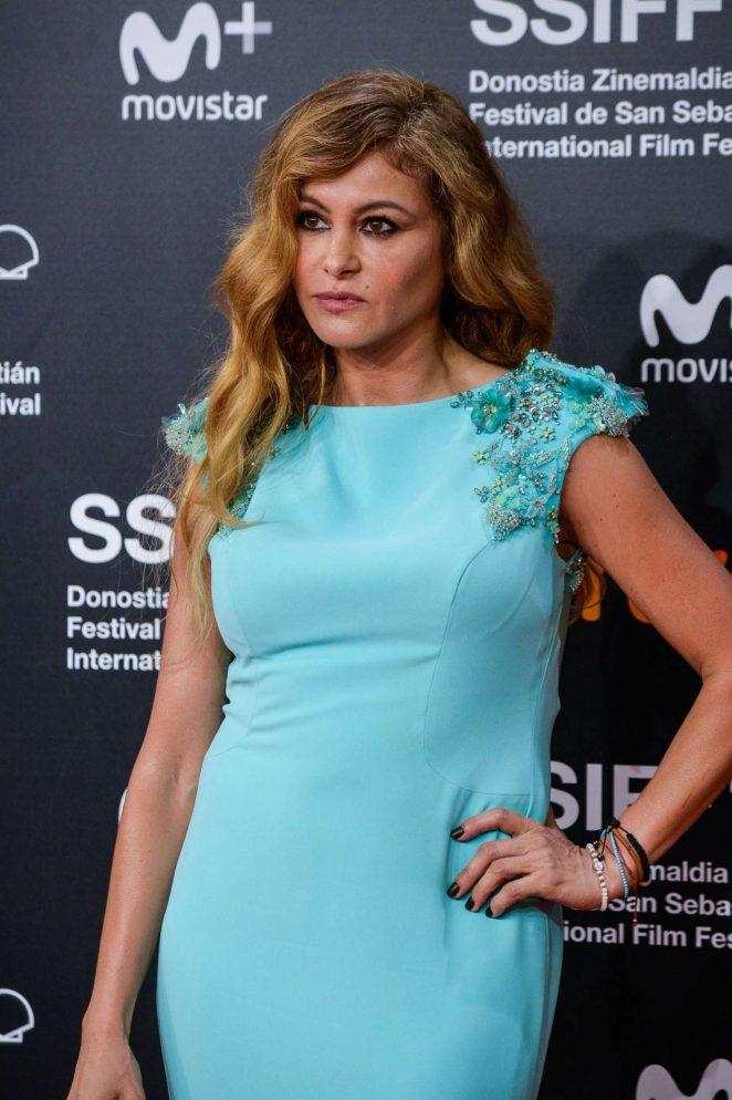Paulina Rubio – Closure Gala at 66th San Sebastian Film Festival