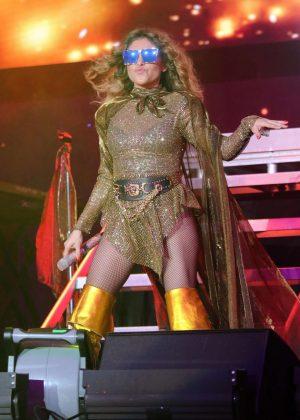 Paulina Rubio - Las que Mandan Latin Music Concert in Inglewood