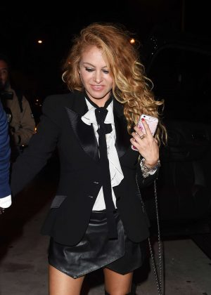 Paulina Rubio - Leaves Catch restaurant in Los Angeles
