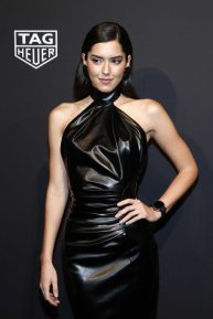 Paulina Vega - Launch of The New Connected Watch by TAG Heuer in NYC